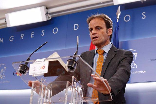 El diputat d'En Comú Podem al Congrés, Jaume Asens. Foto d'arxiu