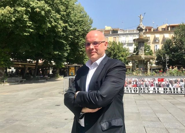 El parlamentario granadino de Ciudadanos en el Parlamento de Andalucía Raúl Fernández