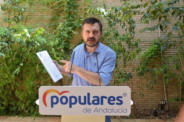 [Comunicación Pp Andaluz]Nota, Audio Y Foto De Toni Martín En Rueda Hoy