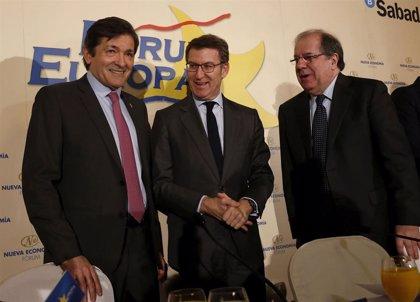Feijóo presidirá el miércoles la entrega de las Medallas de Galicia a los expresidentes de Asturias y Castilla y León