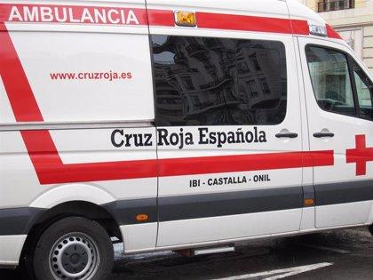 Tres jóvenes heridos al desplomarse la tarima de un concierto en Alzira (Valencia)