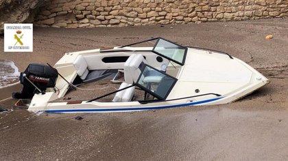 La Guardia Civil aborta la salida de una embarcación con doce personas desde Melilla hacia las costas andaluzas