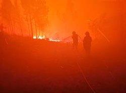 Més de 800 bombers es concentren en l'últim gran incendi descontrolat a Portugal (GIPS)