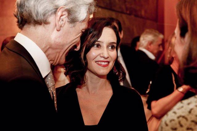 Imagen de archivo de la candidata del PP a presidir la Comunidad de Madrid, Isabel Díaz Ayuso.