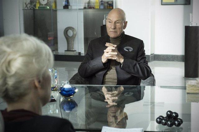 Sir Patrick Stewart en Star Trek: Picard