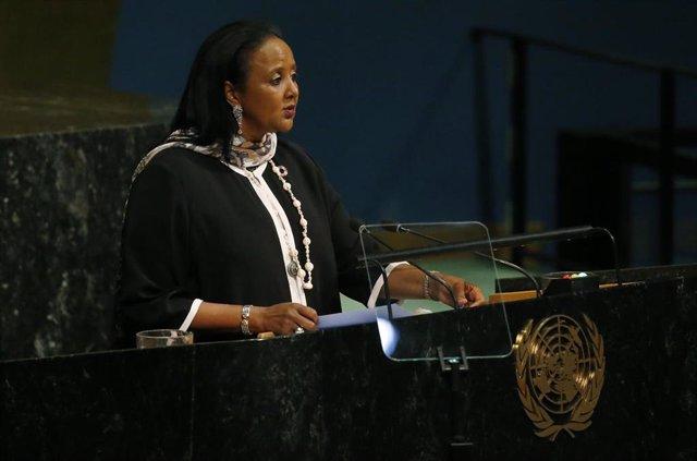 Amina Mohamed, subsecretaria general de Naciones Unidas