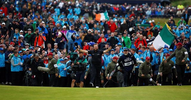 El golfista irlandés Shane Lowry