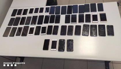 Los Mossos detienen a 25 personas y recuperan 80 móviles robados durante el Sónar