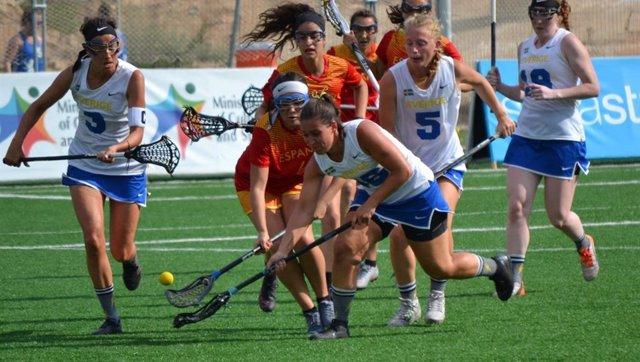 La selección femenina se impone a Suecia (9-8) y finaliza tercera en su grupo del Europeo de Lacrosse