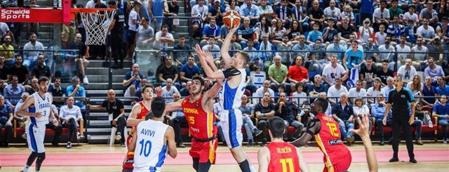 España cae contra Israel y se queda la plata del Eurobasket Sub-20 masculino