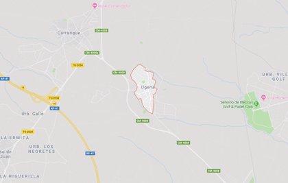 Muere un motorista de 55 años tras colisionar con un coche en la localidad de Ugena