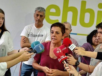 """EH Bildu insiste en que """"no bloqueará"""" la investidura de Sánchez y anunciará este martes el sentido de su voto"""