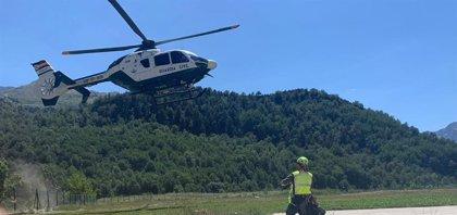 La Guardia Civil realiza once rescates de montaña este fin de semana