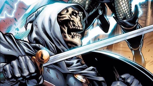 Imagen de Taskmaster, nuevo villano en Viuda Negra (Black Widow)