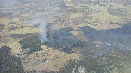 Dan oficialmente por extinguido el incendio declarado en Puertollano