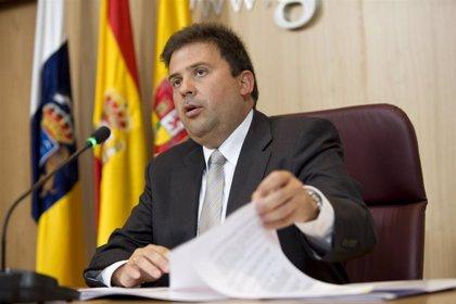 """Ibarra dice que el pacto con NC en Gran Canaria """"ya está encima de la mesa"""" y espera que esta semana se ratifique"""