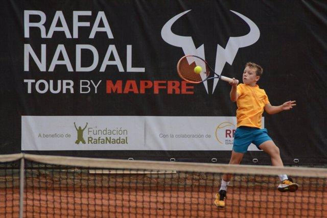 Rafa Nadal Tour by Mapfre se celebra en el R.C. Jolaseta de Getxo