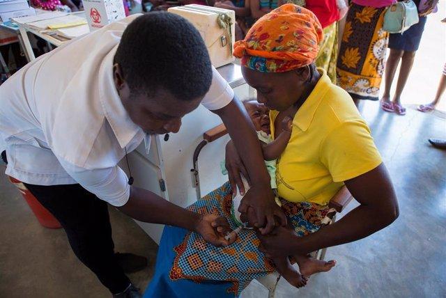 Actuación de la Alianza para la Vacunación Infantil de 'la Caixa'.