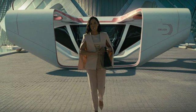Imagen de Tessa Thompson en la tercera temporada de Westworld