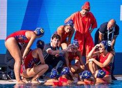 La selecció femenina de waterpolo tomba els Països Baixos (12-8) i lluitarà per les medalles (TWITTER.COM/LENAQUATICS - Archivo)