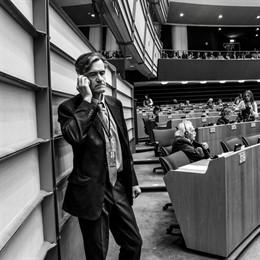 El eurodiputado socialista español Juan Fernando López Aguilar, presidente de la comisión de Libertades Civiles, Justicia y Asuntos de Interior (LIBE) del Parlamento Europeo