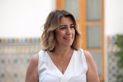 Susana Díaz: Sánchez está poniendo los intereses de España por encima de los intereses del PSOE