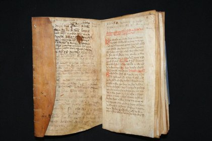 El Archivo de Navarra presta un documento para una exposición en Lisboa