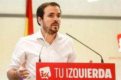 """Garzón rechaza que Unidas Podemos esté en el Gobierno de forma """"testimonial"""" y reclama competencias"""