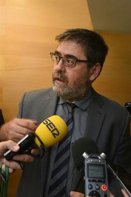 El presidente de la Cámara de Cuentas de Andalucía, Antonio López, en una imagen de archivo.