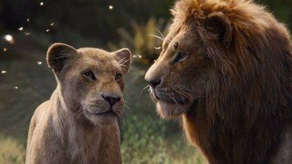 'El Rey León' domina la taquilla española en su fin de semana de estreno