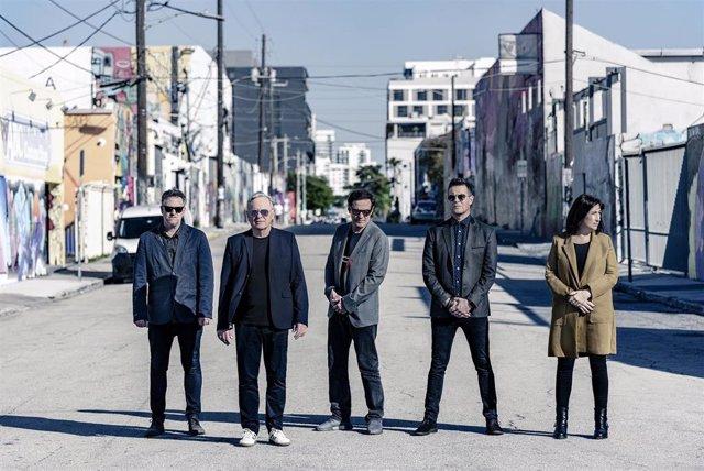 La banda británica New Order