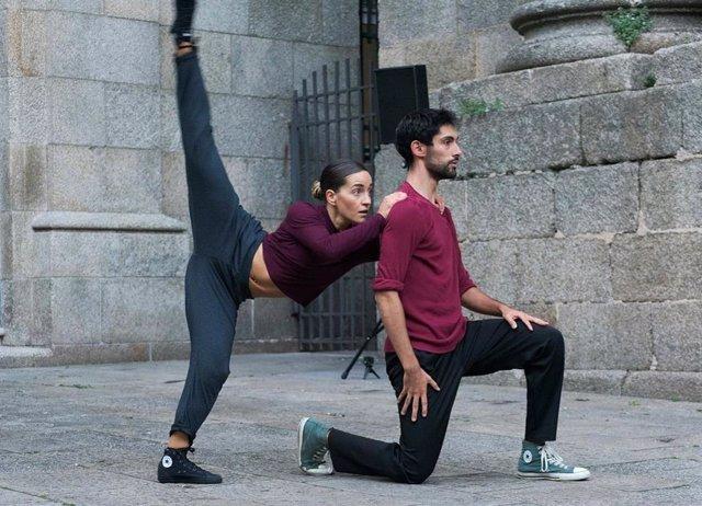 Bailarines participantes en el Certamen Internacional de Coreografía Burgos-Nueva York.