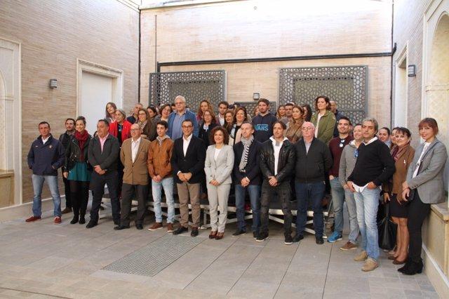 [Grupohuelva] Nota De Prensa Y Fotos De Hoy, 22 De Julio, Acciones Huelva Empresa