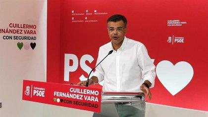 """El PSOE extremeño confía en que la negociación con Podemos """"lleguen a buen puerto"""" para formar un Gobierno progresista"""
