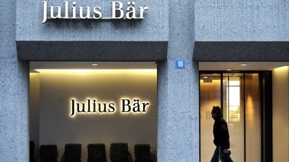 Julius Baer gana 311,4 millones hasta junio, un 22,7% menos