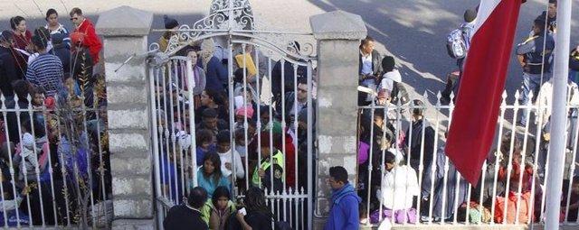 Demandantes de asilo en Chile