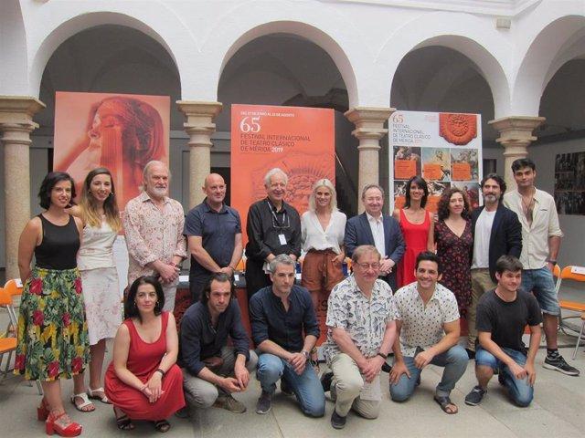 Presentación de la obra 'Prometo' del Festival de Teatro de Mérida