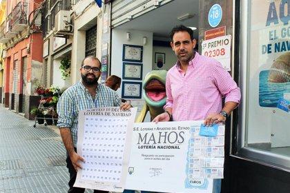 La hostelería de Málaga aspira a dar un premio de la Lotería de Navidad