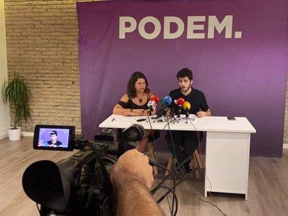 Estañ no es presenta a la reelecció como a secretari general de Podem per a donar pas a un nou lideratge