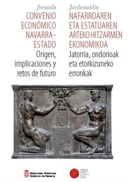Portada del libro 'Convenio Económico Navarra-Estado: origen, implicaciones y retos de futuro'