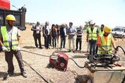 Puigneró visita les obres de desplegament de fibra òptica a Casserres (Barcelona) (GENERALITAT)