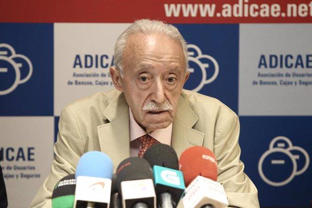 Presidente de Adicae, Manuel Pardos
