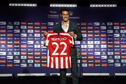 """Mario Hermoso: """"El Atlético está apostando por un proyecto muy grande y por la gente joven"""""""