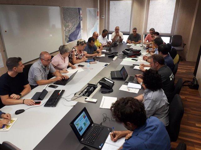 Reunión del comité técnico del plan Procicat