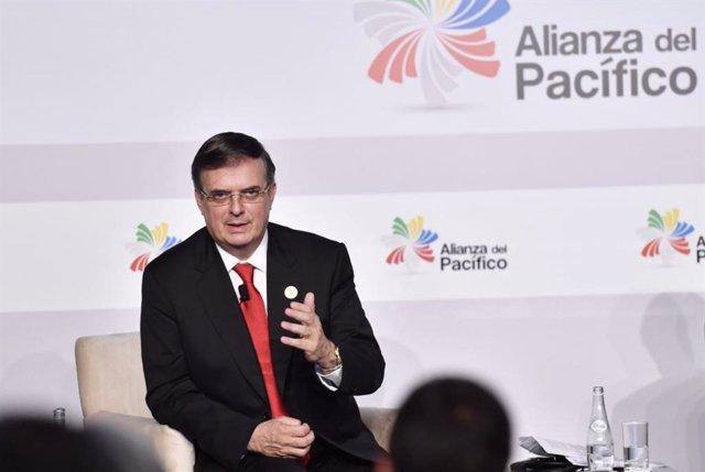 Marcelo Ebrard, el secretario de Relaciones Exteriores de México