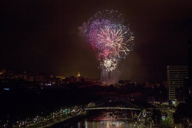 Concurso de Fuegos Artificales de Bilbao