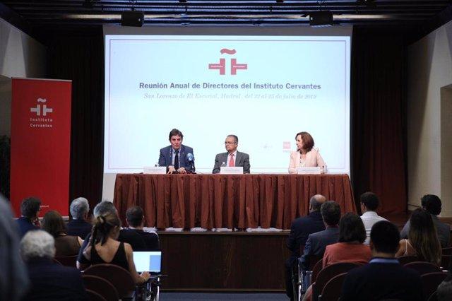 Reunión de los directores del Instituto Cervantes en El Escorial