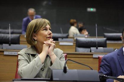 """Barkos dice que """"pedir la abstención a la oposición para que la oposición pueda serlo, muy serio no parece"""""""