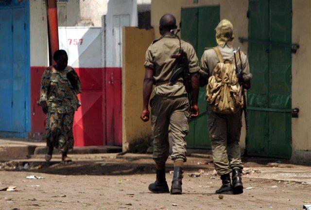 Soldados de República Democrática del Congo (RDC)