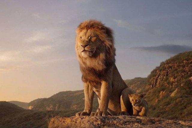 Fotograma de la película 'El Rey León'